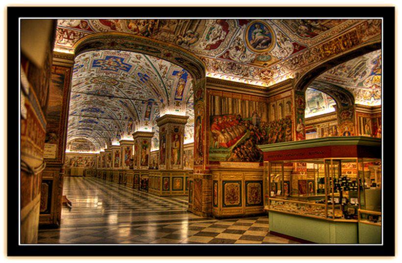 biblioteka Watykan